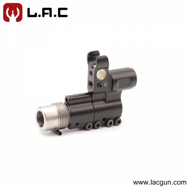 Блок газовый с дульным устройством для Сайги 033 (5.45 ,223 ,7.62 )